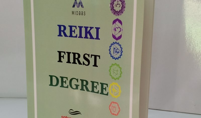 REIKI FIRST DEGREE (BOOK) In Hindi            (for Beginners)